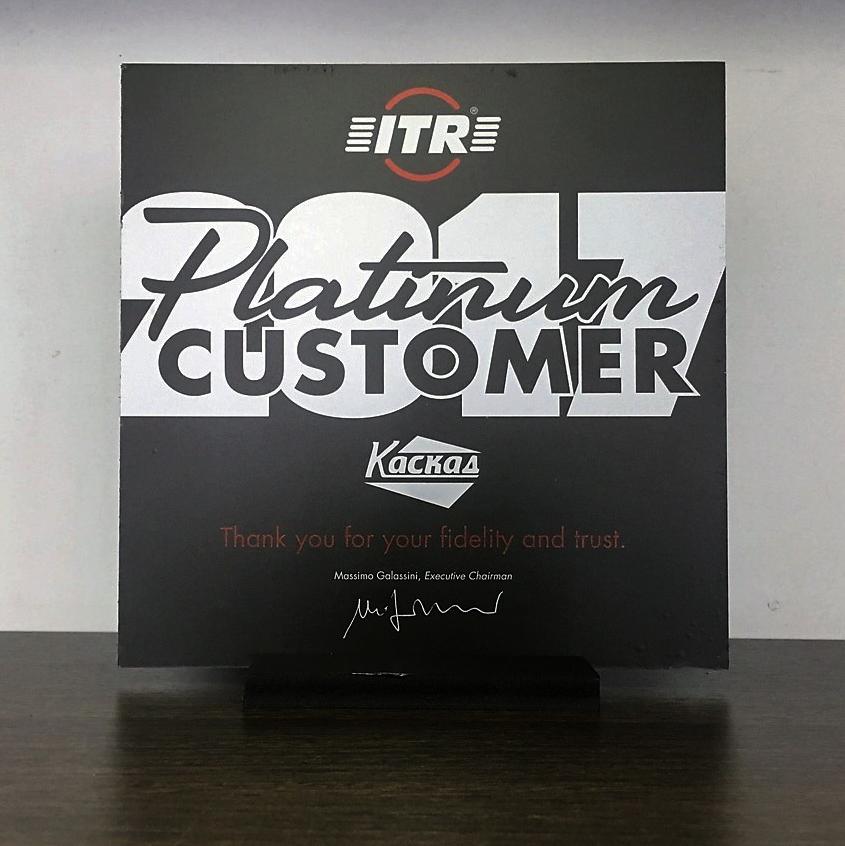 Сертификат официального дистрибьютора USCO S.P.A., поездка в Италию и заслуженное звание «Platinum customer 2017»
